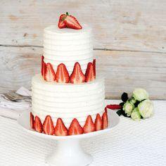 Rezept für Hochzeits-Erdbeer-Tower