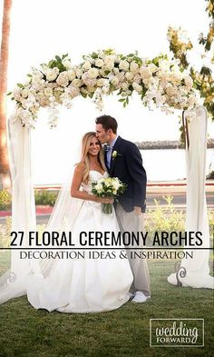 27 Beautiful Wedding Arch Decoration Ideas With Flowers ❤ In our gallery of wedding arch decoration ideas we have details of flower decor, whole composition and awesome photos of lovely couples under arches. See more: http://www.weddingforward.com/wedding-arch-decoration-ideas/ #weddings #decorations Photo: Colorful Snapshots photography http://colorfulsnapshots.com/