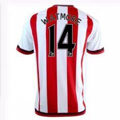Sunderland AFC Home 16-17 Season Watmore #14 Red Soccer Jersey [I329]