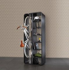 """""""lockers"""" for outdoor gear in the garage..."""