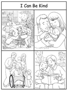 I can be kind - Coloring Sheet