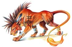 Red XIII by *EchoGreens on deviantART