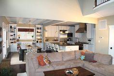 2 Story Family Room in Kelsea Model
