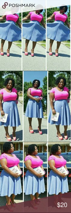 Fabulous blue skirt decided to sale this beautiful skirt Skirts