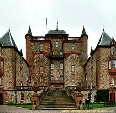 Thirlestane Castle, near Lauder, Borders, Scotland. ...Thirlestane Castle is set in extensive parklands. It lies within Lauderdale, the valley of the Leader Water. The land has been in the ownership of the Maitland family since 1587, and Thirlestane has served as the seat of the Earls of Lauderdale. The castle was extended in the 1670s. Further additions were made in the 19th century. The castle is now open to the public.