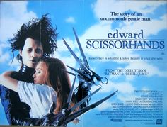 Edward Scissorhands 1990 With Johnny Depp And Winona Ryder 1990 Movies Hd Movies