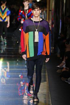 Balmain   Menswear - Spring 2017   Look 46