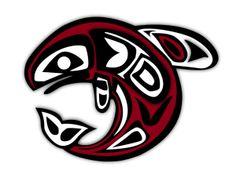 Birth Totem - Salmon