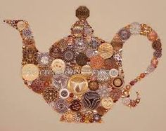 Image result for button art food