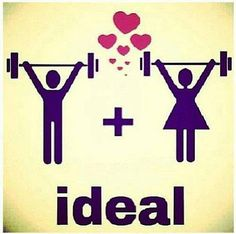 = a la pareja ideal #Fitness www.bodytuning.mx