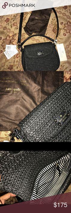 kate spade cobble hill straw mini devin Black crossbody bag:  new kate spade Bags Crossbody Bags