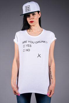 SADO FULLCAP & ARE YOU DRUNK T-SHIRT