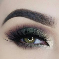 Green brown smokey