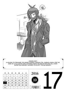 Tokyo Ghoul 366 Days Calendar 2016 - October - Album on Imgur