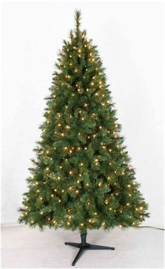 Artificial Grand Pine Prelit Christmas Tree 75 Ft * Click on the image for additional details.