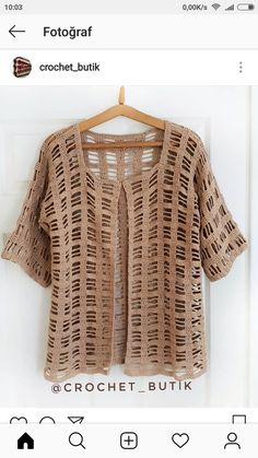 Most popular and and Crochet Jacket, Crochet Cardigan, Crochet Baby, Knit Crochet, Baby Boy Sweater, Creative Textiles, Crochet Magazine, Crochet Fashion, Kimono Fashion