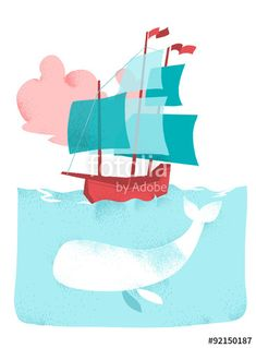 Image result for moby dick vector