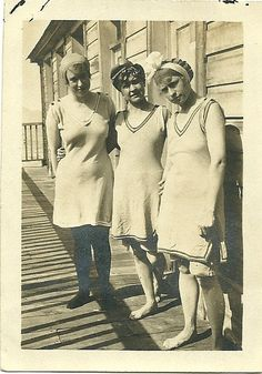 Edwardian Women at the Shore