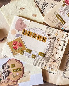 Old Stamps, Paris Theme, Oui Oui, Mail Art, Friends, Stuff To Buy, Instagram, Flowers, Amigos