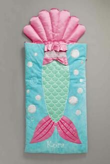 Personalized Mermaid Kids Sleeping Bag Exclusively Ours