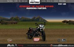 Mahindra launches interactive website for Pantero in India. http://automotivehorizon.sulekha.com/mahindra-pantero-interactive-website-launched_newsitem_6665 Mahindra Pantero interactive website launched in India - Auto Industry News