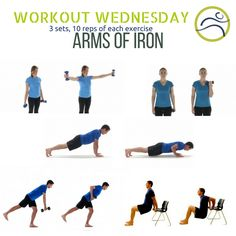 Strong arms for everyday activities. Strong Arms, Wednesday Workout, Everyday Activities, How To Better Yourself, Exercise, Ejercicio, Excercise, Daily Activities, Exercise Workouts