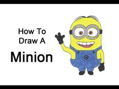 ▶ How to Draw a Minion (Despicable Me) - YouTube