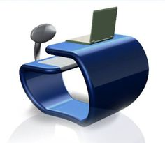 Indian designer Mahesh Marath, keeping the international school furniture standards in view has designed a unique furniture unit that allows a comfortable body posture and ample space for students in the classroom. Hailed as 'gRaduate,' the computer table derives its form from the English alphabet 'G.'