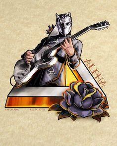α Artist: Randi Laing The Nameless Ghouls Official Ghost Cult. Band Ghost, Ghost Bc, Heavy Metal Rock, Heavy Metal Bands, Rock Roll, Ghost Banda, Music Rock, Ghost Tattoo, Horror Drawing