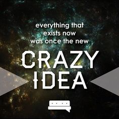 Out with the old cool, calm and collected. In with the crazy. Embrace your mental madness! #risktakers #rogue #bold #spillyourgutsy #groundbreakers #changetheworld #worxgd