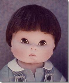 Kezi Matthews - DEAR ONES -  Soft Sculpture Cloth Doll Patterns
