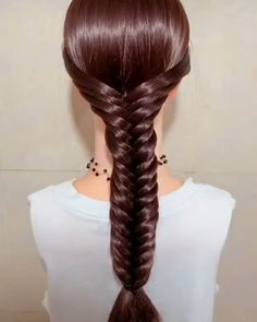 Beautiful hairstyle - new site Ball Hairstyles, Easy Hairstyles For Long Hair, Braids For Long Hair, Pretty Hairstyles, Braided Hairstyles, Girl Hair Dos, Bridal Hair Buns, Hair Upstyles, Hair Knot