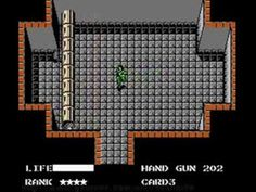 Where Snake Started Metal Gear Game (NES) - YouTube