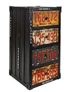 ts-ideen Regal Kommode Schrank im Container Industrie Design Shabby Schwarz Metall Optik Vintage Stil zu Aufbewahrung im Flur Wohnzimmer Büro oder im Badezimmer ts-ideen http://www.amazon.de/dp/B00VZ34GWO/ref=cm_sw_r_pi_dp_DBcXwb0T6VYBJ