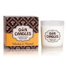 Svíčka ve skleněné dóze OWN Candles WHISKEY CARAMEL