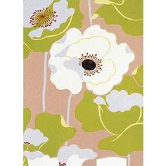 Poppies on Silk Wall Mural- Ideal  Use on an Accent Wall in the Bedroom, Kitchen, or Even the Master Bathroom