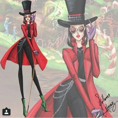 Willy Wonka Tim Burton collection by Guillermo meraz
