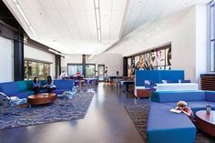 Mitchell Park Library and Community Center in 2015 Library Design Showcase Vitrine Design, Brown University, Community Space, Study Space, Library Design, Lobbies, Center Table, Showcase Design, Reading Room