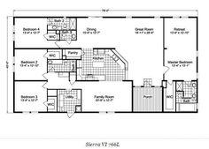 155 best mobile home floor plans images on pinterest house floor rh pinterest com