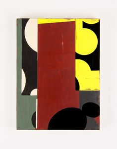 "Celia Johnson | Fenno, 2013 | encaustic and alkyd on wood panel, 10""x8"" /sm"