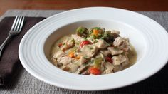 Chicken à la King Recipe - Creamy Chicken, Mushroom, and Pepper Gravy - YouTube