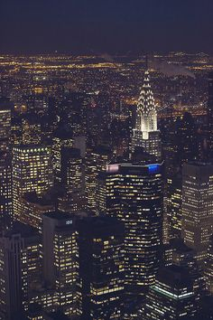 """'New York City, All of the Lights"""" ~ photo by therealmoeysphotography"""