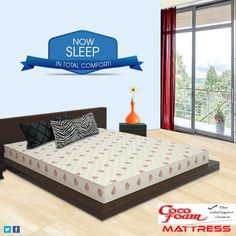 Cocofoam Mattresses Offers 25% Discounts On Mattresses For Limited Period. Also Available Comforters, Towels ,Pillows, Duvets And Bed Sheets. We spend about 26 years of our lives sleeping. Makes sense to do it on the right mattress! Isn't it? To buy the mattress. Call-09310121861