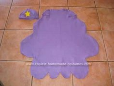 My nine year old daughter wanted a Homemade Lumpy Space Princess Costume (LSP) from Adventure Time, and this was not a costume that we could purchase.