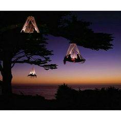Tree camping in Kings Canyon NP, Californië Tree Camping, Camping Places, Outdoor Camping, Places To Travel, Camping Lights, Glamping California, California Travel, California National Parks, Mexico Canada