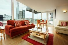 Living Area, Empire Square Serviced Apartments, Southwark