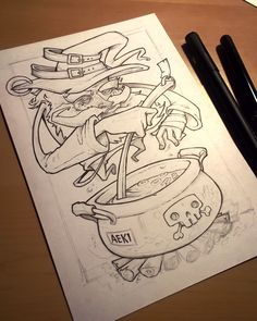 TheWizardsBrew...☕ Composed of ink & glue... traditionally drank from a fine leather shoe..
