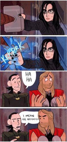 Thor Loki Hela Ragnarok