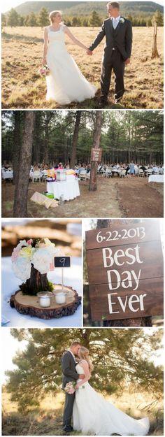 how cute is this barn wedding?!  Follow us on twitter and facebook  @Dellwood Barn Weddings   Dellwood Barn Weddings