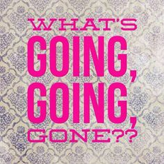 August is fast approaching. In the world of Jamberry that means soon time for Going, Going, Gone. Jamberry will announce list of wraps going into retirement. Who wants to host a Going, Going, Gone party with me? Contact me today to pick a date. www.nicolecapizzi.jamberrynails.net